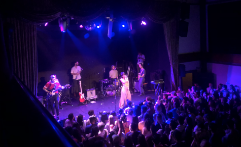 July 2019: The Marìas' concert at The Bowery Ballroom. Prior to COVID-19, audience members could stand mask-less, shoulder-to-shoulder with strangers. Photo by Maria Collins.
